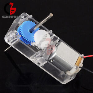 1 94 Mini Biaxial Gear Motor W Plastic Shell Box For Diy Rc Car Robot Boat