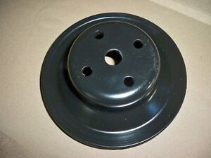 Gm Chevy Water Pump Pulley Stamped 3932430 Dw