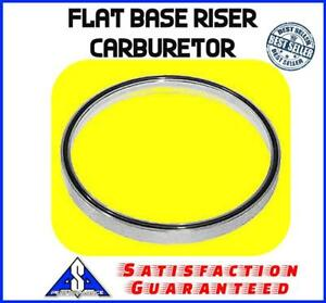Air Cleaner Spacer 1 4 Aluminum Flat Base Riser Carburetor Fits Holley Sbc Bbc
