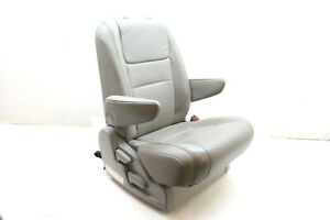 2015 Toyota Sienna Xle Second Row Right Seat Gray Lc14 Oem 12 13 14 15 16 17