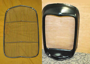 1932 Ford Grill Shell Steel Original No Hole Hot Rod With Insert Stainless