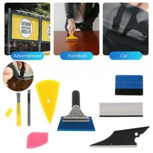 8pcs Car Window Tint Wrapping Vinyl Tools Squeegee Scraper Applicator Kits Set