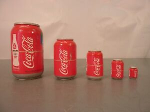 Beijing 2008 Olympics COCA COLA WOODEN NESTING CANS Made in Russia Coke Games
