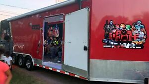 Fully customized 2017 32 Mobile Gaming Trailer In Great Working Condition For S