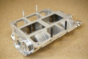 Polished Chevrolet Sb Weiand Supercharger Blower Intake Manifold 6 71 8 71