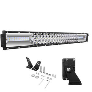 Autofeel 30 Inch Led Light Bar Kit Off Road Lights Fog Lights 32000lm Tri Row