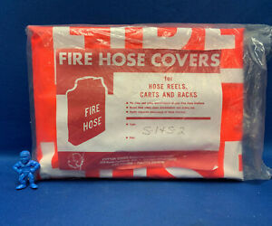 Cotton Goods Manufacturing Type S 1 S 2 Fire Hose Cover For Hose Reels Carts