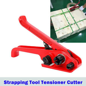 Strapping Tool Tensioner Cutter For Ploypropylene Strap Manual Banding Kit