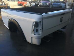 2009 2018 Dodge Ram 1500 2500 3500 8 Foot Long Truck Bed Box 8 White code Pw7