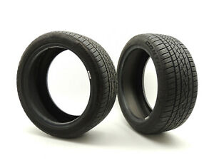 Two 215 45 R17 91w 215 45 17 Tires 8 32 Continental Controlcontact Sport 950b