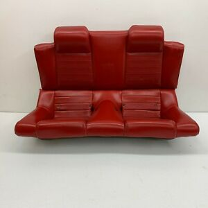 2005 2009 Oem Ford Mustang Convertible Gt Rear Red Back Seats s3438