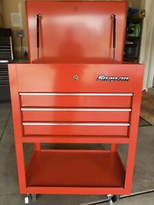 Snap on Roll Cart Tool Box Model Krsc33apbo Local Pick Up Johnstown Co New