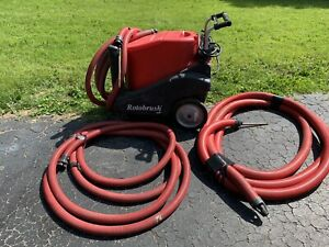 Rotobrush Air Air Duct Cleaning Machine With Bio cide Oxine Fogger