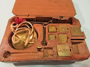 Apothecary Gold Scale 19th Century