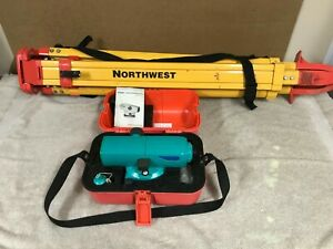 Sokkia C330 Automatic Level Surveying Tool With Carry Case And Tripod Stand