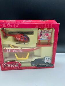 Coca Cola Toy Set Never Used with Packaging Very Good Condition