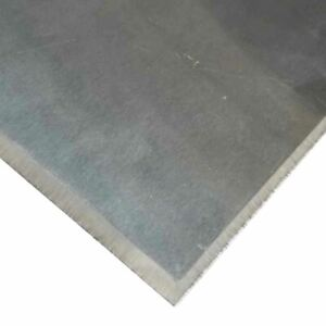 316 Stainless Steel Plate 3 4 X 5 X 12