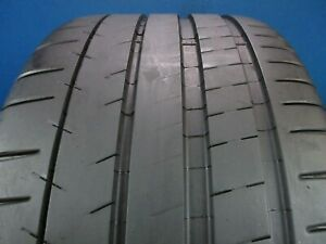 Used Michelin Pilot Super Sport Zp 285 35zr 19 8 9 32 High Tread 1452e