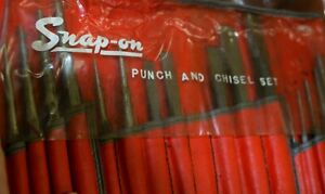 Snap On Chisel And Punch 17 Pc C 170c Auto Body Repair Shop Tools D1bin