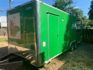 Very Clean 2018 8 5 X 24 Food Concession Trailer With Porch For Sale In Texa