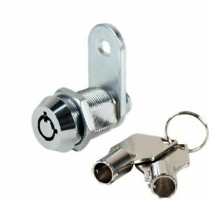 Tubular Cam Lock 1 1 8 Cabinet Toolbox Safe Drawer Replacement