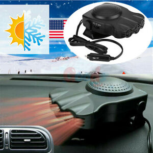 Portable Car Ceramic Heating Cooling Heater Fan 200w 12v Plug In Ve