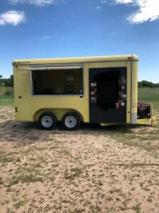 Used 2004 Food Concession Trailer Mobile Street Food Unit In Good Shape For Sale