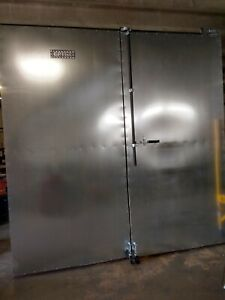 Gas Modular Powder Coating Oven 8 X 8 X 16