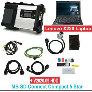 V2020 06 Mb Sd C5 Sd Connect Compact 5 Star Obd2 Diagnosis With Wifi For Cars