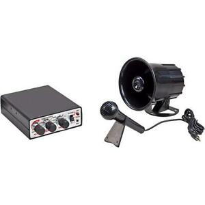 Wolo 345 Animal House Electronic Horn Sirens Public Announcement System 12v