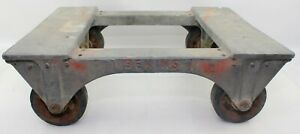 Antique Magnesium Prods Co Bekins Furniture Dolly Cart Mover
