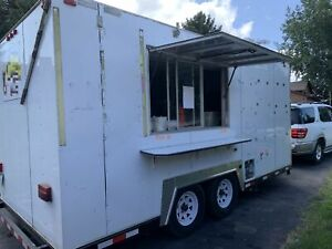 Very Versatile 8 5 X 16 5 Food Concession Trailer Mobile Kitchen Unit For Sa
