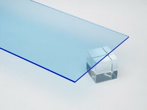 Acrylic Blue Fluorescent Plexiglass 125 1 8 X 24 X 48 Sheet 9092