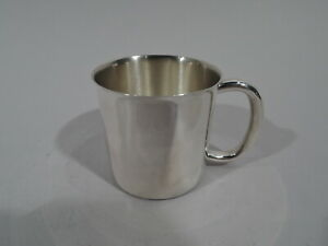 Towle Mug 7871 Modern Christening Baby Cup American Sterling Silver