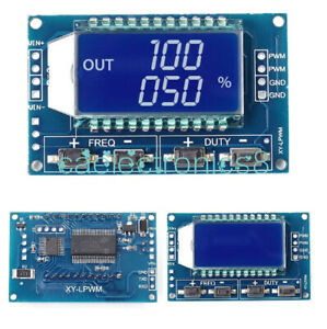 Pwm Pulse Frequency Duty Cycle Adjustable Module Square Wave Signal Generator C