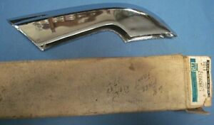 New Old Stock 1968 Chevrolet Impala Caprice Bel Air Right Front Bumper Guard