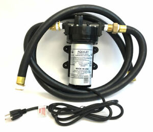 Aquajet Aquatec Beverage Series Demand Pump 4 0 Gpm 5501 ien2 v77d ul