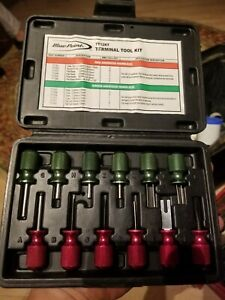 Blue Point By Snap On Tt12kt 12 Piece Terminal Tool Kit With Case