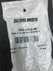 New Devilbiss Sn 402 K Air Valve Kit Gti Pro Original