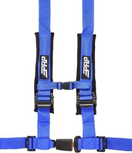 Prp Seats Sbauto2b Blue 4 Point Harness W 2 Adjustable Belts And Sewn In Pads
