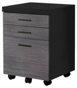 Filing Cabinet In Black id 3868230