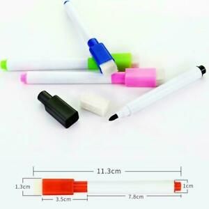 3pcs Magnetic Whiteboard Pen Drawing Erasable Dry White Board Markers Schoo C9m0