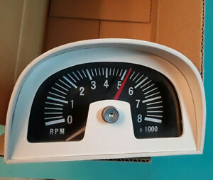 Instructions For Mach I 1969 1970 Mustang Ford Hood Tachometer 8000 1968 Gt Cs