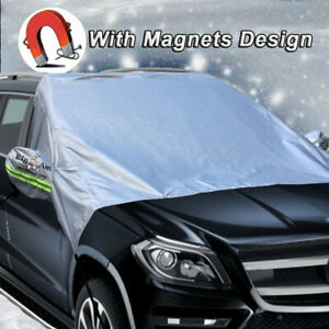 Big Ant Auto Windshield Snow Cover Mirror Covers Snow Protector Sunshade Visor