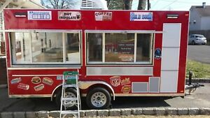 Terrific Fully Loaded 2017 7 X 16 Custom Built Food Concession Trailer For Sal