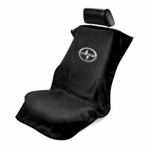 Universal Fit Black Scion Logo Seat Towel Cover Seat Armour Cover Tc Fr S Im Iq