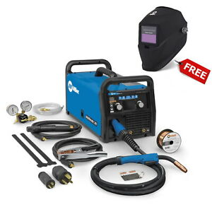 Miller Multimatic 215 Auto set Multiprocess Welder W free Helmet 907693
