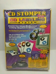 Cd Stomper Pro Labeling System Brand New Sealed