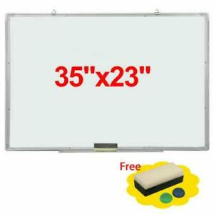 35 x23 Magnetic Writing Whiteboard Dry Erase Board Marker Pen With Eraser