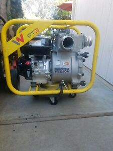 3 trash Pump Wacker Neuson Pt3 Trash Dewatering Centrifugal Water Pump